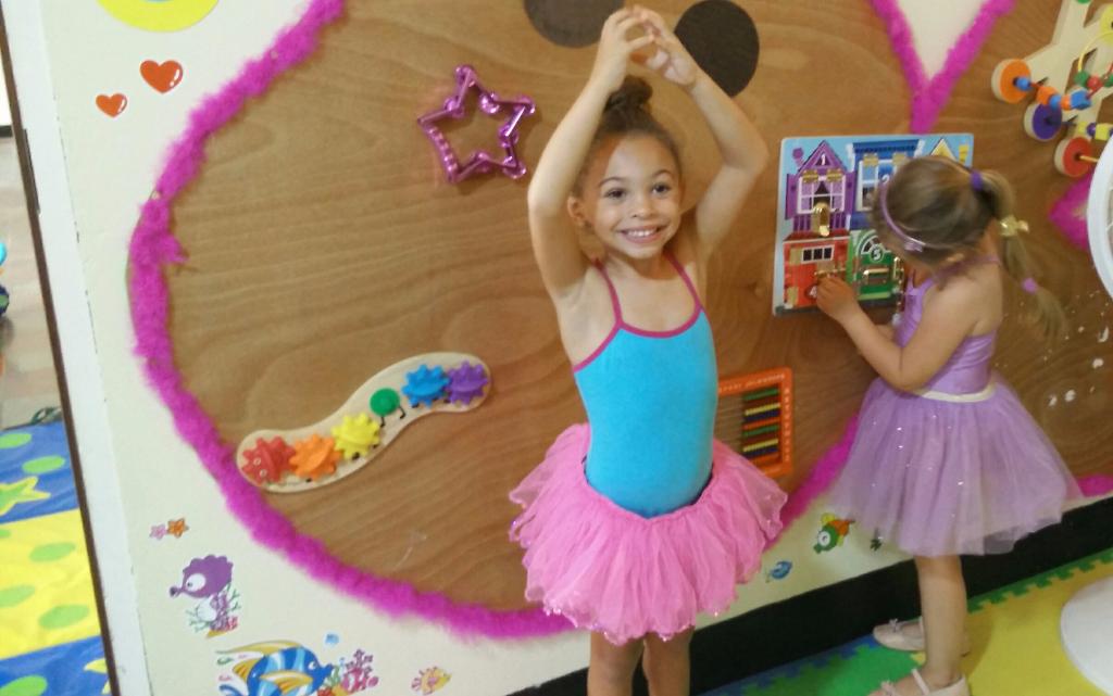 Our beautiful ballerina