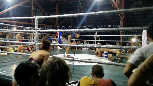 Fight night at the Fight Club and it was packed!