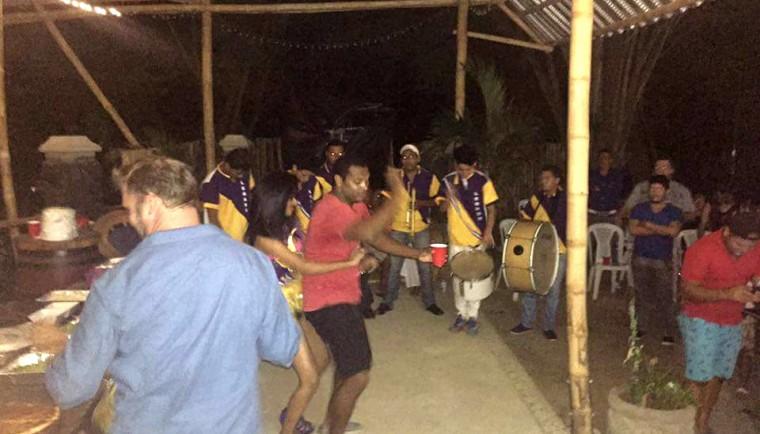 Kharron dancing