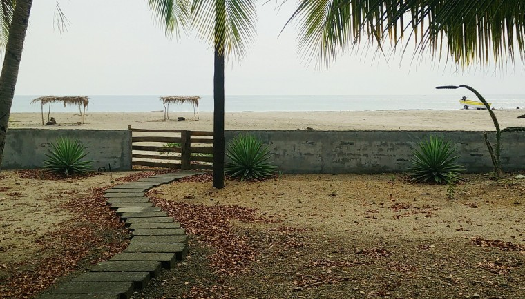 Beach front property I am about to list at Nica Life Realty