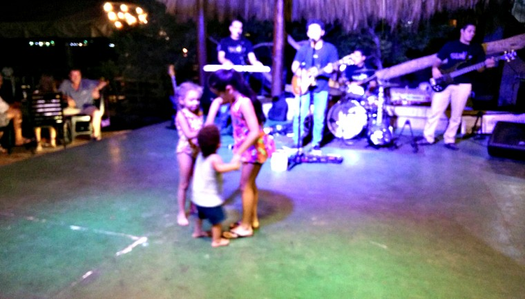 Azalea really loved playing with our friend's Nica step-daughter