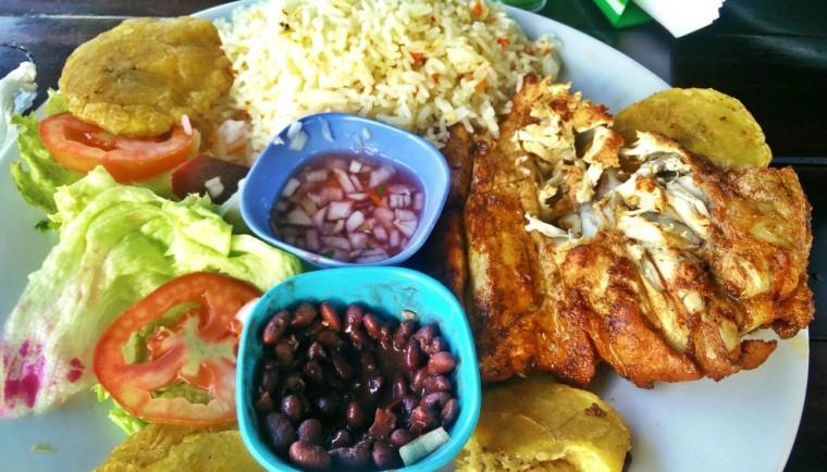 Eating in Nicaragua