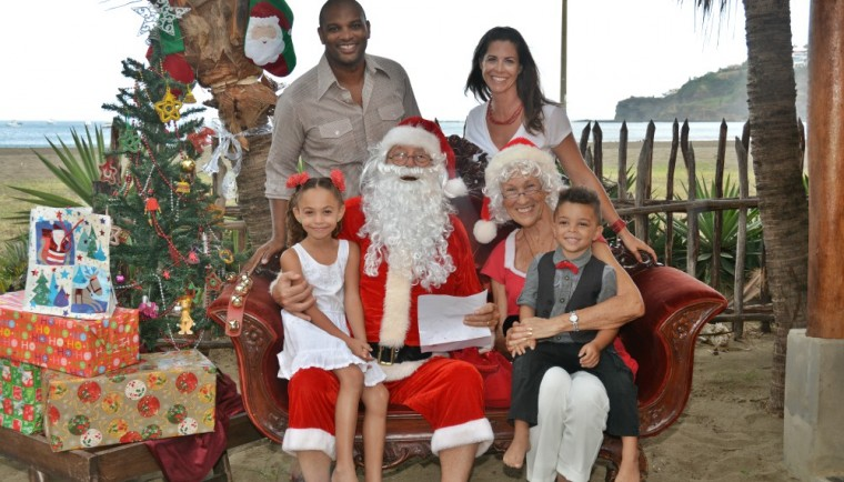 Santa and The Reid Family